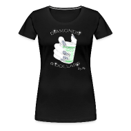 Women's T-Shirts ~ Women's Premium T-Shirt ~ Diamonds & Dollars