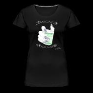 Women's T-Shirts ~ Women's Premium T-Shirt ~ Diamonds & Dollars