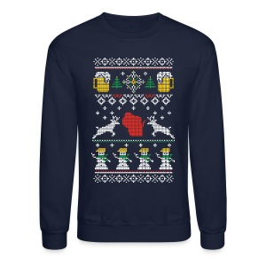 CHRISTMAS IN WISCONSIN - Crewneck Sweatshirt