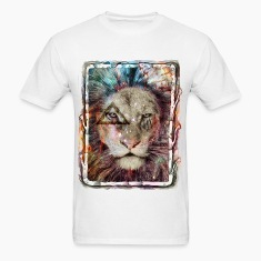 Galaxy King Lion T-Shirts