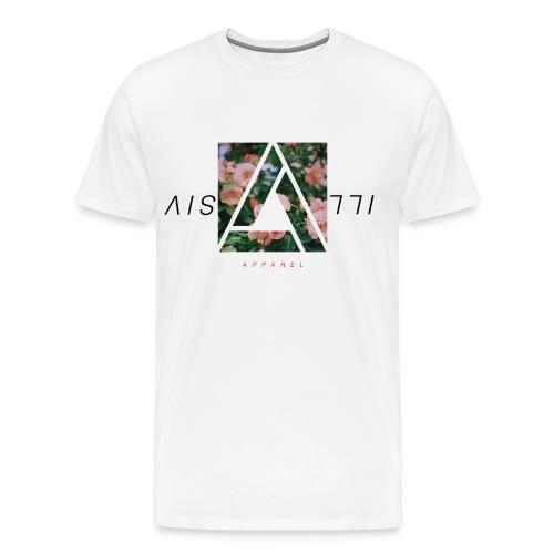 Illusive Floral Tee | White - Men's Premium T-Shirt