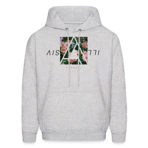 Illusive Floral Sweatshirt | Ash Grey - Men's Hoodie
