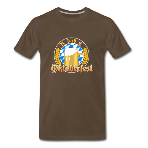 Oktoberfest - Bavarian Blue - Men's Premium T-Shirt