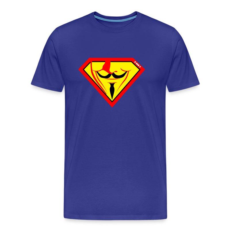Super Fawkes - Men's Premium T-Shirt