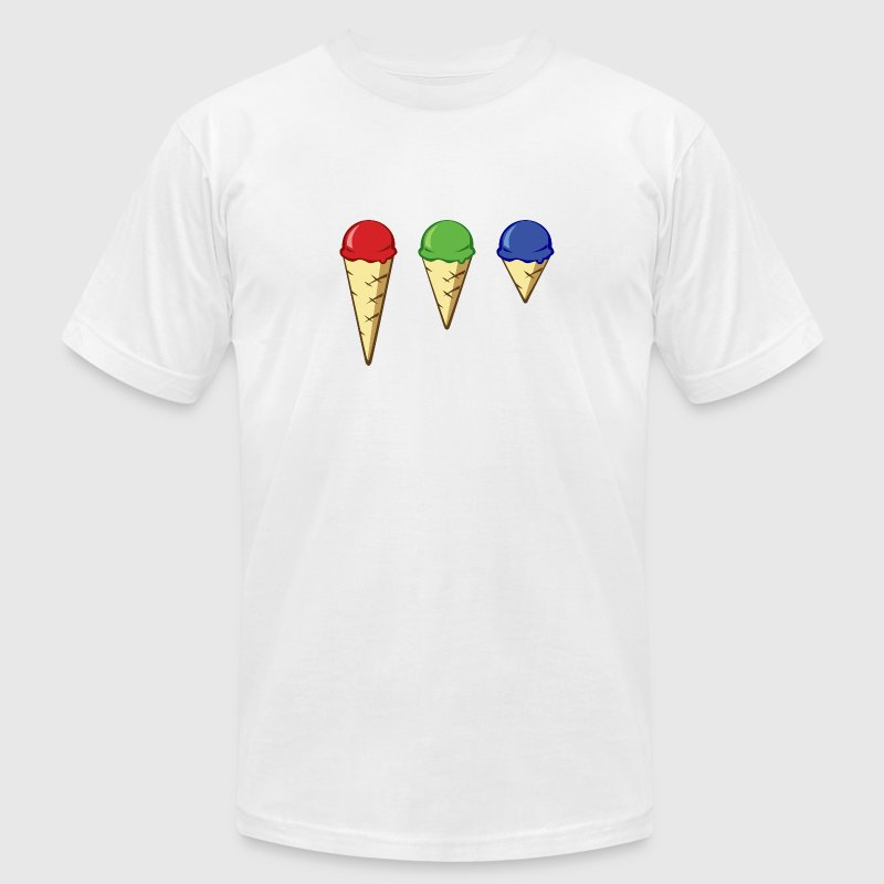 LMS Cones - Men's T-Shirt by American Apparel