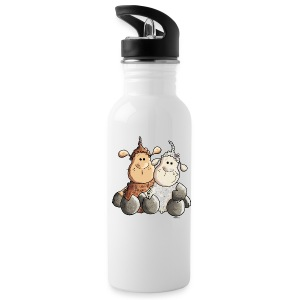 Funny Love Sheep Bottles & Mugs - Water Bottle