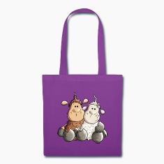 Funny Love Sheep Bags & backpacks