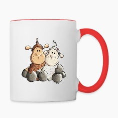 Funny Love Sheep Bottles & Mugs