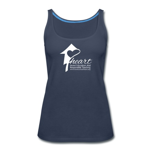 Blue HEART Women's Tank - Women's Premium Tank Top