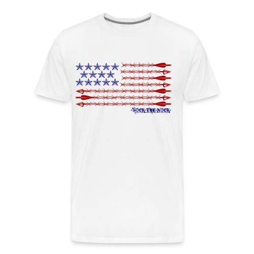 RTN USA Flag Horizontal - Men's Premium T-Shirt