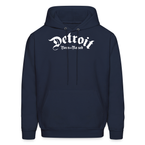 Detroit Born & Raised - Men's Hoodie