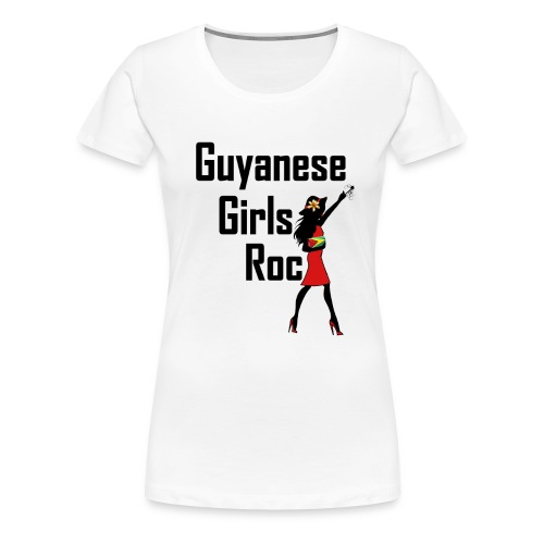 Guyana Women's Short Sleeve T-Shirt - Women's Premium T-Shirt