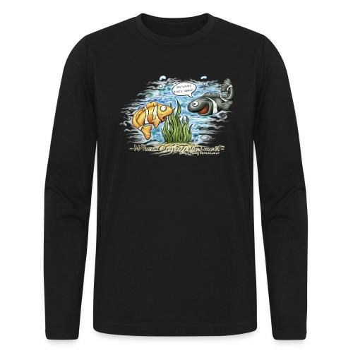 When clownfishes meet - Men's Long Sleeve T-Shirt by Next Level