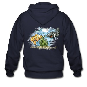 When clownfishes meet - Men's Zip Hoodie