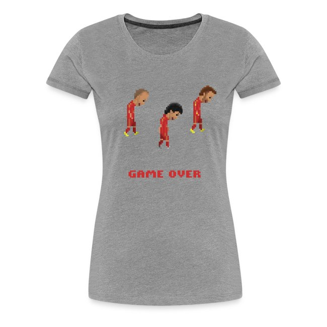 Women T-Shirt - Game over