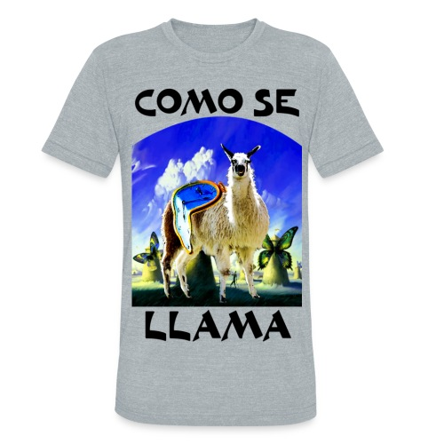 Dali Llama - Unisex Tri-Blend T-Shirt