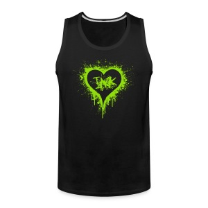 I love ink -green - Men's Premium Tank