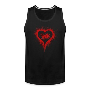 I love ink - red - Men's Premium Tank