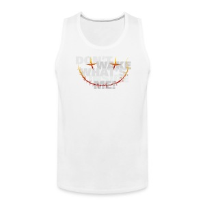 freak inside - white - Men's Premium Tank