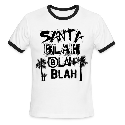 SBLAH Ringer T - Men's Ringer T-Shirt
