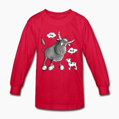 Funny French Bulldog Cartoon Kids' Shirts