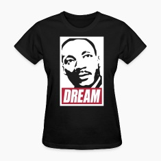 x Dream MLK  2c noir Women's T-Shirts