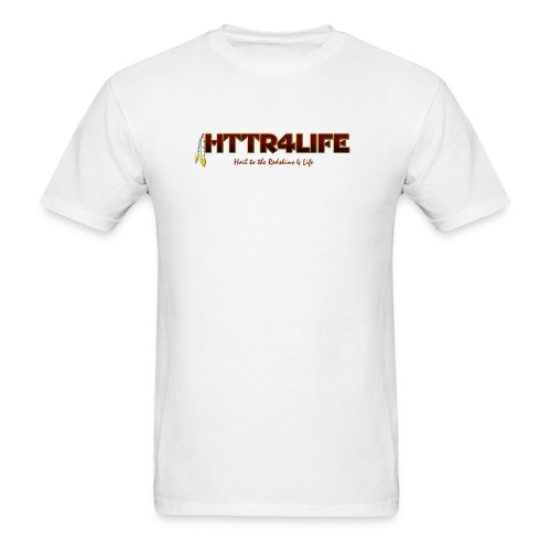 HTTR4LIFE Support The Name Redskins Shirt - Men's T-Shirt