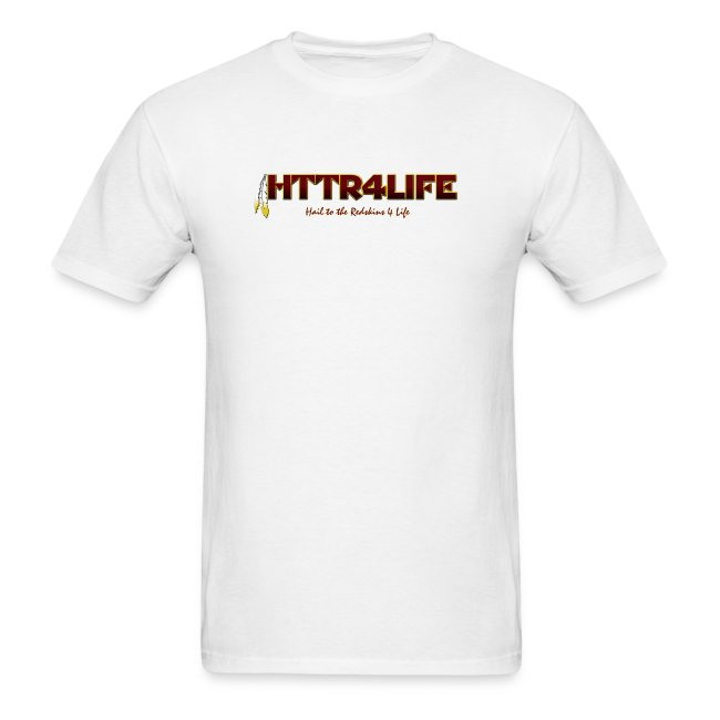 """HTTR4LIFE """"Support The Name"""" Redskins Shirt"""
