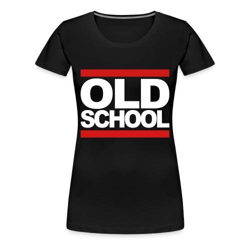 Old School - Women's Premium T-Shirt