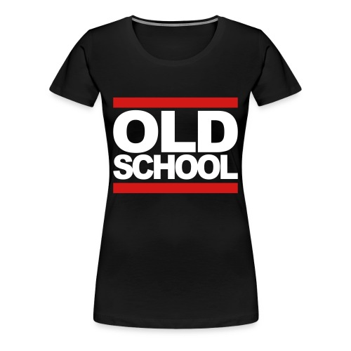 Old School - Women's Premium T-Shirt