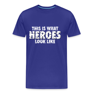 Hero T-Shirt (Blue) - Men's Premium T-Shirt