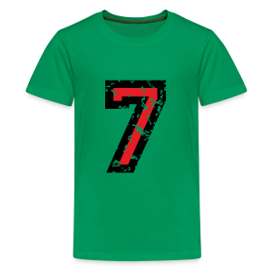 The Number Seven - No. 7 (two-color) red