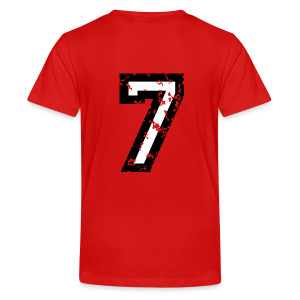 The Number Seven - No. 7 (two-color) white