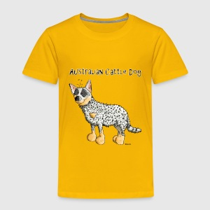 Cute Australian Cattle Dog - Dogs Baby & Toddler Shirts - Toddler Premium T-Shirt