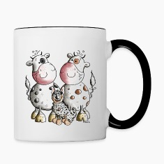 Australian Cattle Dog And Cows Bottles & Mugs
