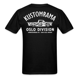 Kustomrama Oslo Division Black - Men's T-Shirt
