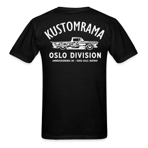 Kustomrama Oslo Division Black - Men's T-Shirt