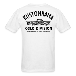 Kustomrama Oslo Division White - Men's T-Shirt
