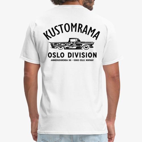 Kustomrama Oslo Division White - Men's T-Shirt