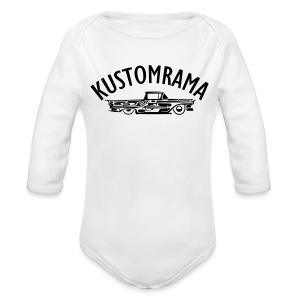 Kustomrama Baby One Piece - Long Sleeve Baby Bodysuit