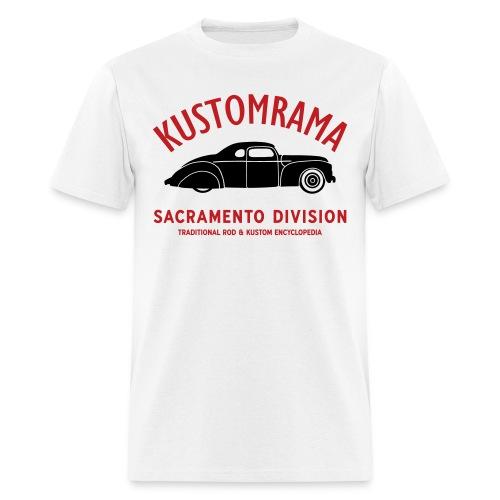 Kustomrama Sacramento Division - Men's T-Shirt
