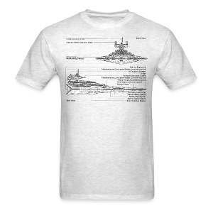 Star Destroyer - Star Wars - Men's T-Shirt