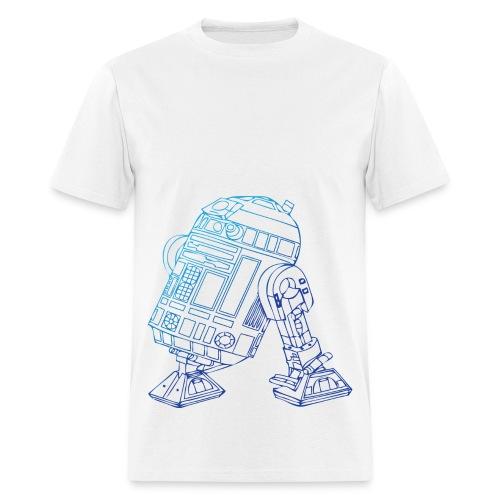 r2d2 - Star Wars - Men's T-Shirt