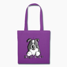 Sweet Border Collie - Dog - Dogs Bags & backpacks