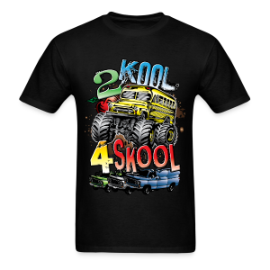 Kool Monster Bus - Men's T-Shirt