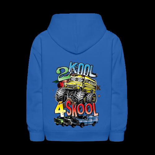 Kool Monster Bus - Kids' Hoodie