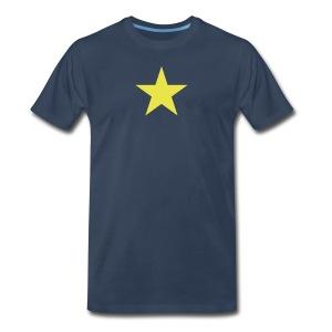 The Burnet Flag - Men's Premium T-Shirt