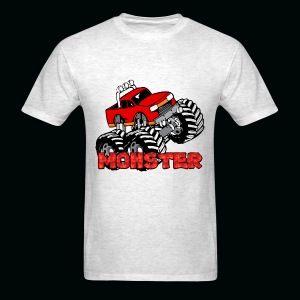 Monster Pickup Truck - Men's T-Shirt