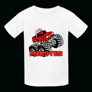 Monster Pickup Truck - Kids' T-Shirt