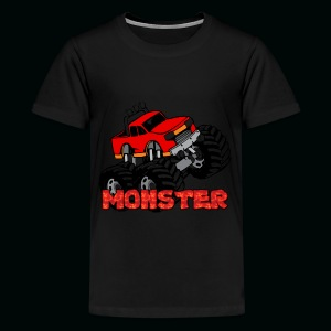 Monster Pickup Truck - Kids' Premium T-Shirt